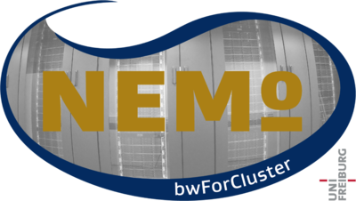 Figure: The bwForCluster NEMO for Elementary Particle Physics, Neuroscience and Microsystems Engineering